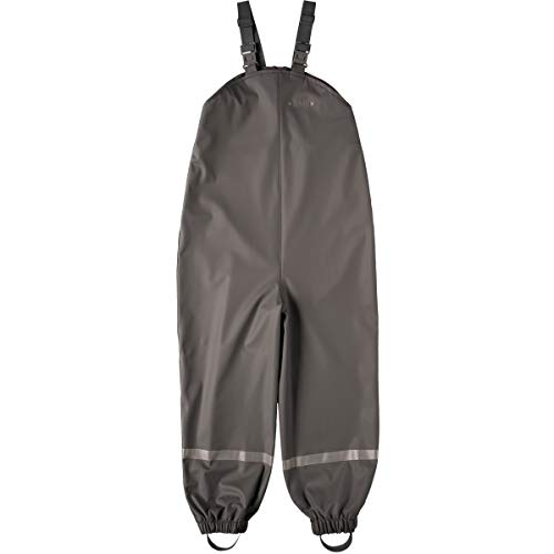 BMS Regenhose Buddelhose Matschhose für Jungen in Coolgrey Größe 152