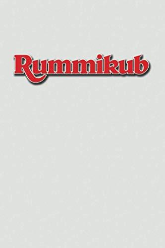 Rummikub: Score Book | Rummikub Lined Notebook (College-Ruled) | Perfect for Scorekeeping | Light Grey