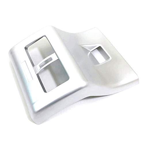 Yuquanxin 1 Unids Coche Trasero Ventilación Salida Cubierta De Salida De Aire Acondicionado Panel Anti-Kick Panel Trasero para Camry 2018-2020 Durable (Color : Silver)