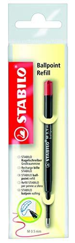 Kugelschreiber - Großraummine - STABILO Ballpoint Refill - Einzelmine - rot