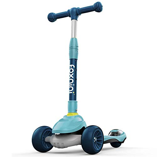 WNN-URG Scooter de Scunt Kids - Stunt Scooter Scoots Scooters Intermedio y Principiante Freestyle Tricks Scooters para 8 años de Edad URG (Color : Blue)
