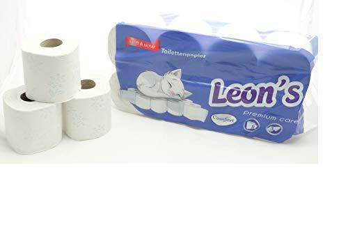 192 Rollen Toilettenpapier, 3-lagig, 150 Blatt,hochweiß