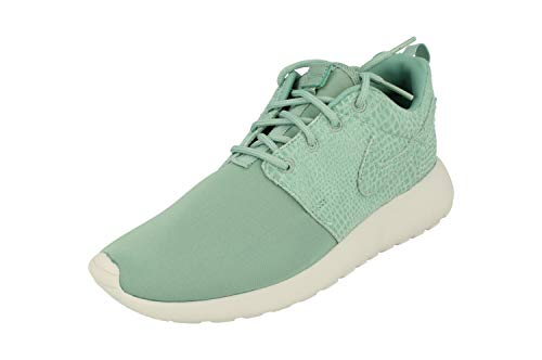 Nike Womens Roshe One Print Running Trainers 844958 Sneakers Shoes (UK 3.5 US 6 EU 36.5, White/Black/Metallic Pewter/Medium Grey 004)