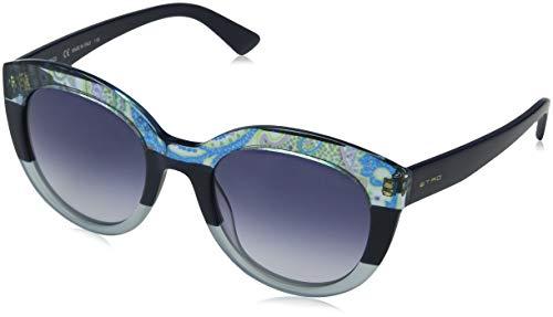 Etro ET600S 425 52 Gafas de sol, Paisley/Bluee, Mujer