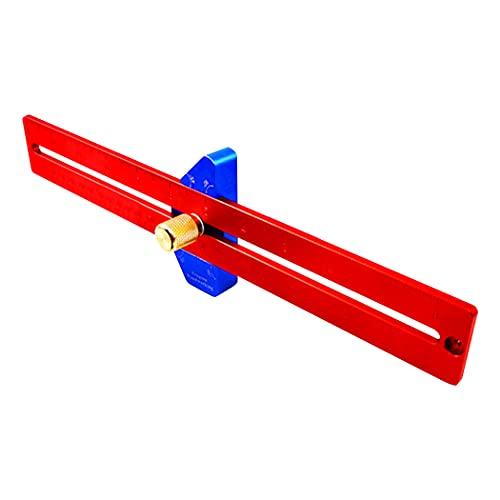 Felimoa 木工定規 スコヤ 測定 マーキング 木工用工具 全長約300mm DIY