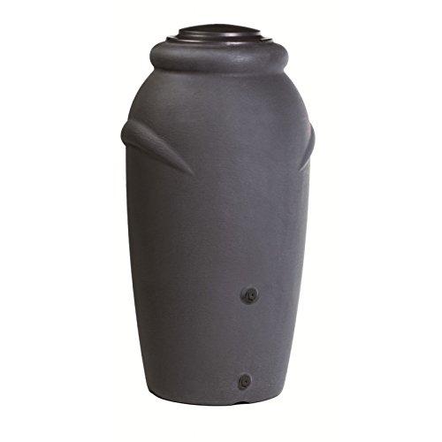 Prosperplast Aqua Can Barril de agua de lluvia 210L Aquacan Baby de plastico en color antracita 59,6...
