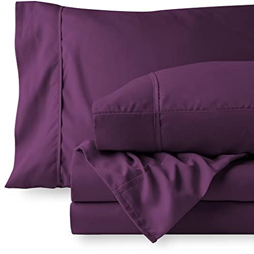 Bare Home Queen Sheet Set - 1800 Ultra-Soft...