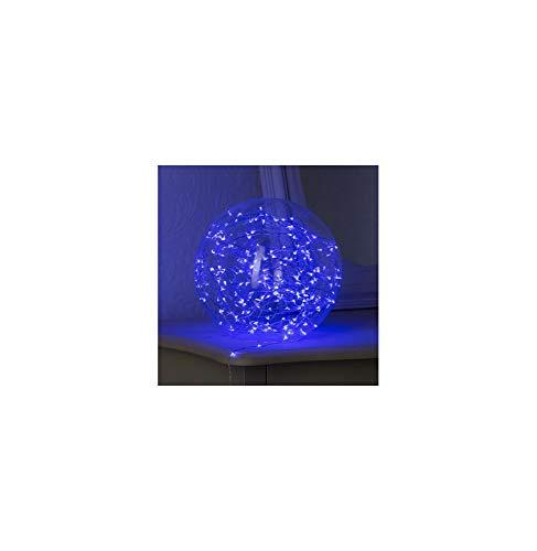 Guirlande cascade intérieur 400 LED - 2 m - Bleu