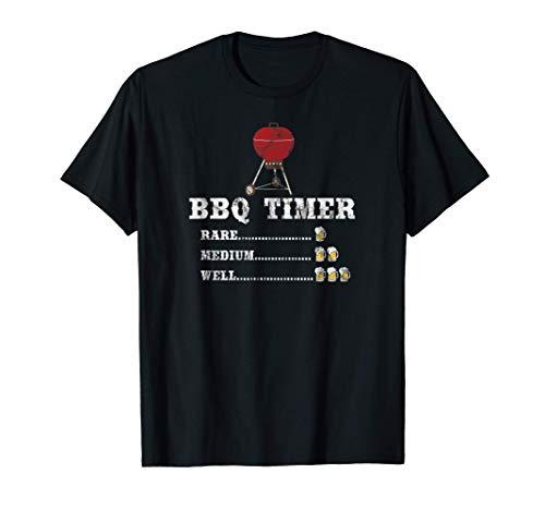 Temporizador de barbacoa Grillmaster Funny Grill Barbecue Camiseta