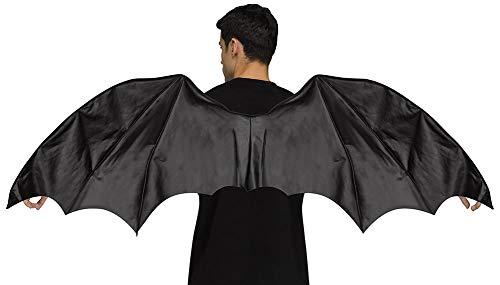 Ailes de Dragon Noir gothique taille adulte