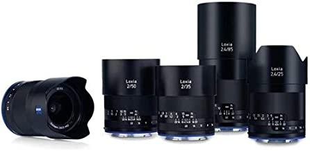 Zeiss Loxia Lens Bundle, Includes 21mm f/2.8, 25mm f/2.4, 35mm f/2, 50mm f/2, 85mm f/2.4 Lenses & Case for Sony E Cameras