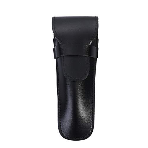 Healifty maquinilla de Afeitar de Cuero sintético Funda Protectora para maquinillas de Afeitar de Doble Filo