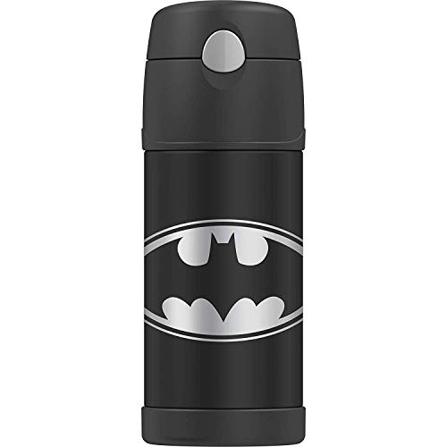 THERMOS BRAND FUNTAINER Vacuum Insulated Straw Bottle, 12-Ounce,...