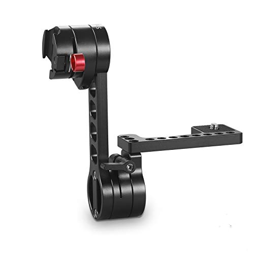 SMALLRIG EVF Mount LCD Monitor Bracket with Built-in NATO Clamp for Zacuto Gratical HD, for BMVA, for SmallHD 502HD - 1897