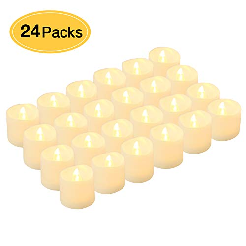 LED Tea Lights Candles, Kohree Flameless Candles Battery Operated LED Candles, Flickering Tealight...
