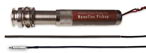 Shadow Nanoflex Pickup für Akustikgitarre mit Endpin-Vorverstärker