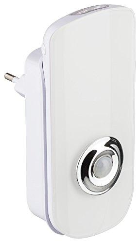 Müller-Licht LED Nachtlicht für die Steckdose inklusiv mobiler Taschenlampe mit Dämmerungssensor - 6500 K - weiß