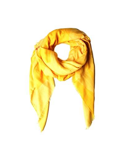 Pañuelos Fular Foulard Mujer Bufandas Estampado Diseño de estrellas amarillas Agatha Ruiz de la Prada 150 x 130cm