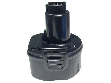 PowerSmart vervangende accu voor Dewalt DW9061, DE9062, DW9062, 9.6V 2.0Ah