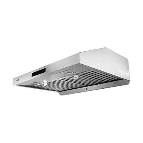VESTA 860CFM 30'' Stainless Steel Under Cabinet Range Hood 6 Speeds With Touch Screen And LED Lights