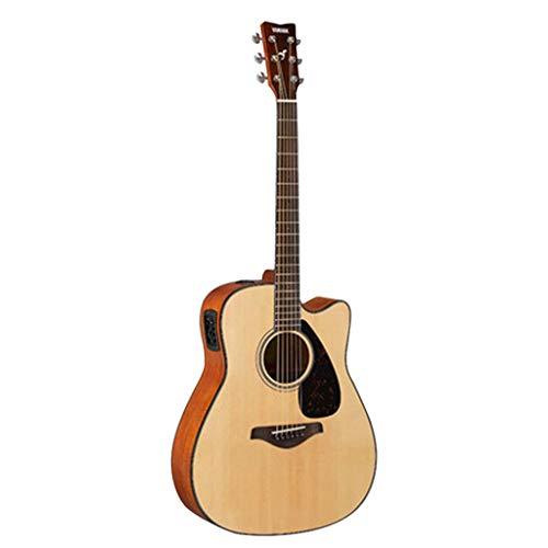 Instrumentos musicales Guitarra eléctrica Yamaha FGX800C Junta Balada eléctricos Box principiante Estudiantes...