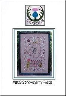 Strawberry Fields Cross Stitch Chart and Free Embellishment