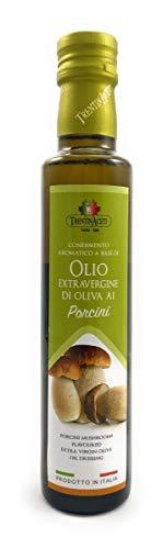 Extra Natives Olivenöl mit natürlichen Steinpilzaroma - 1x250 ml - Italienisches Steinpilz Olivenöl in höchster Qualität - TrentinAceti - kaltgepresst