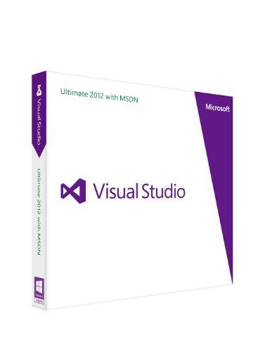 Microsoft Visual Studio Ultimate 2012 with MSDN(旧版) 更新版
