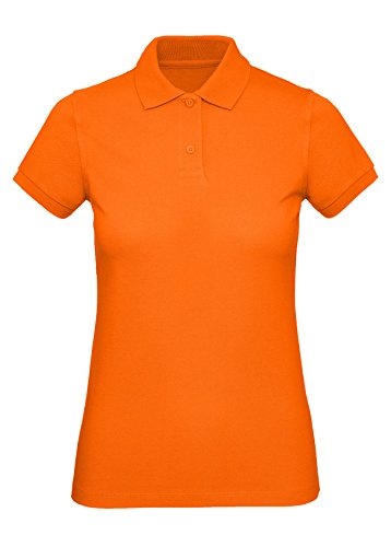 Memouu Damen Poloshirt M440 Orange M