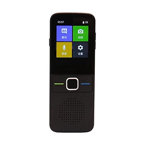 ZNBJJWCP T10 Offline Translator Translator Language Translator 137 Idiomas Translator Portable Smart Voice Translator for Speech Learning Travel