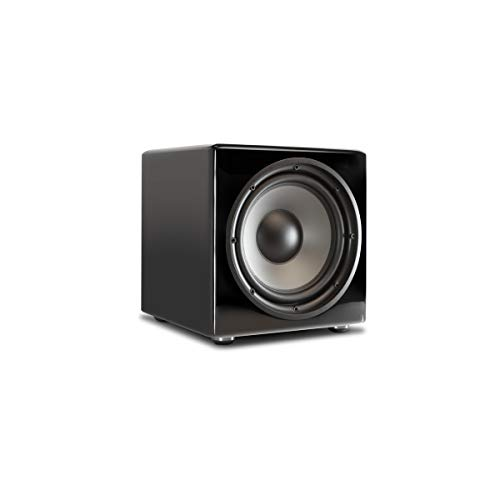 PSB SubSeries 250 Subwoofer 10-inch Driver Powered with 200 Watts in High Gloss Black
