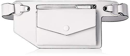 s.Oliver (Bags Damen 39.904.90.5171 Clutch, Weiß (White), 2x14x31 cm