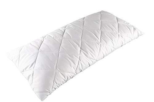 Clinotest Almohada acolchada, almohada para alérgicos, en diferentes medidas (40 x 80 cm)
