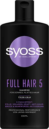 Syoss Shampoo Full Hair 5, 440 ml