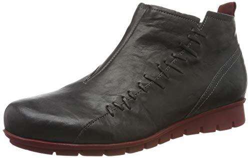 Think! Damen Menscha_585072 Hohe Sneaker, Grau (Vulcano/Kombi 21), 38 EU