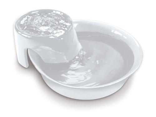 Pioneer Pet Big Max Ceramic Drinking Fountain, 128 Ounces (White)
