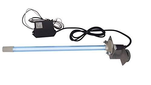 "24 Volts Power Input! Pureuv 14"" Bulb Uv Light Coil Cleaner for Ac HVAC Coil 24v Germicidal Bulb with Magnet."