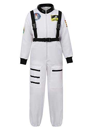 Disfraz De Astronauta Nio NASA Cosplay Halloween Ropa Navidad Nia Traje Astronauta Blanco
