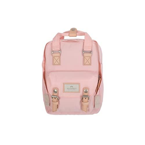 Doughnut MACAROON Rucksack MINI Unisex 7L mit Tabletfach I Studenten-Rucksack funktionell & handgefertigt I ideal als Reise-Rucksack oder leichter City-Rucksack I Daypack (Pink (Sakura))