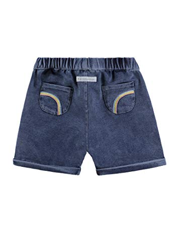 Bellybutton Kids Baby-Mädchen Jeans Shorts, Blau (Light Blue Denim|Blue 0014), 56