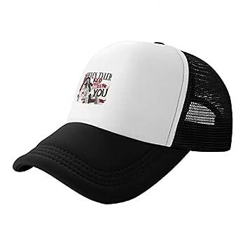 Shenghuihuiqian Steven Tyler Trucker Hat Breathable Baseball Sport Cap Unisex Black