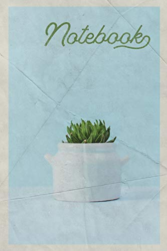 Notebook: Minimalist Office Decor Elegant Composition Book Journal Diary for Men, Women, Teen & Kids Vintage Retro Design modern desk accessories