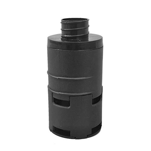 Silenciador de Filtro de Aire de 25 mm, silenciador de Filtro de compresor de Aire con Clip, silenciador de Filtro de Entrada de Aire para Dometic Eberspacher para Webasto y Calentador diésel