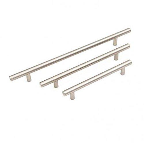 Simwood Maniglia nuovo acciaio inossidabile T Bar raso armadio cucina Armadio del cassetto porta