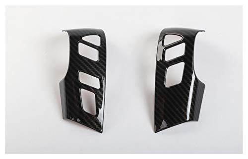 HUAER Sansour Fit para Nissan Armada Patrol Royale Nismo Infiniti QX56 QX80 Y62 2010-2018 ABS Volante Trim Sticker Car Styling (Color Nombre: Púrpura)