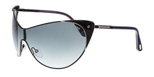 Tom Ford Sunglasses FT0364 0001B Gafas de sol, Negro (Schwarz), 70 para Mujer