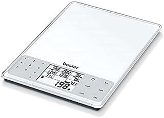 Beurer DS61 Nutritional Analysis Scale, White 20.700cm x 5.200cm x 25.700cm (BxHxT)