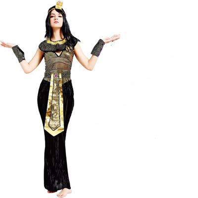 thematys® Disfraz de Diosa Cleopatra Afrodita para Mujer Cosplay, Carnaval y Halloween - Talla única 160-180cm