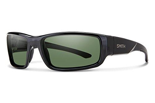 Smith Optics 0716736088150 Brille, Unisex - Erwachsene, Black/Grey Green, 60/17/130