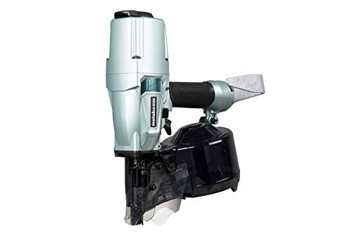 Metabo HPT Coil Siding/Framing Nailer | Pneumatic | Drives 1-3/4-Inch to 3-Inch Wire & Plastic Collated Siding/Framing Nails | NV75A5